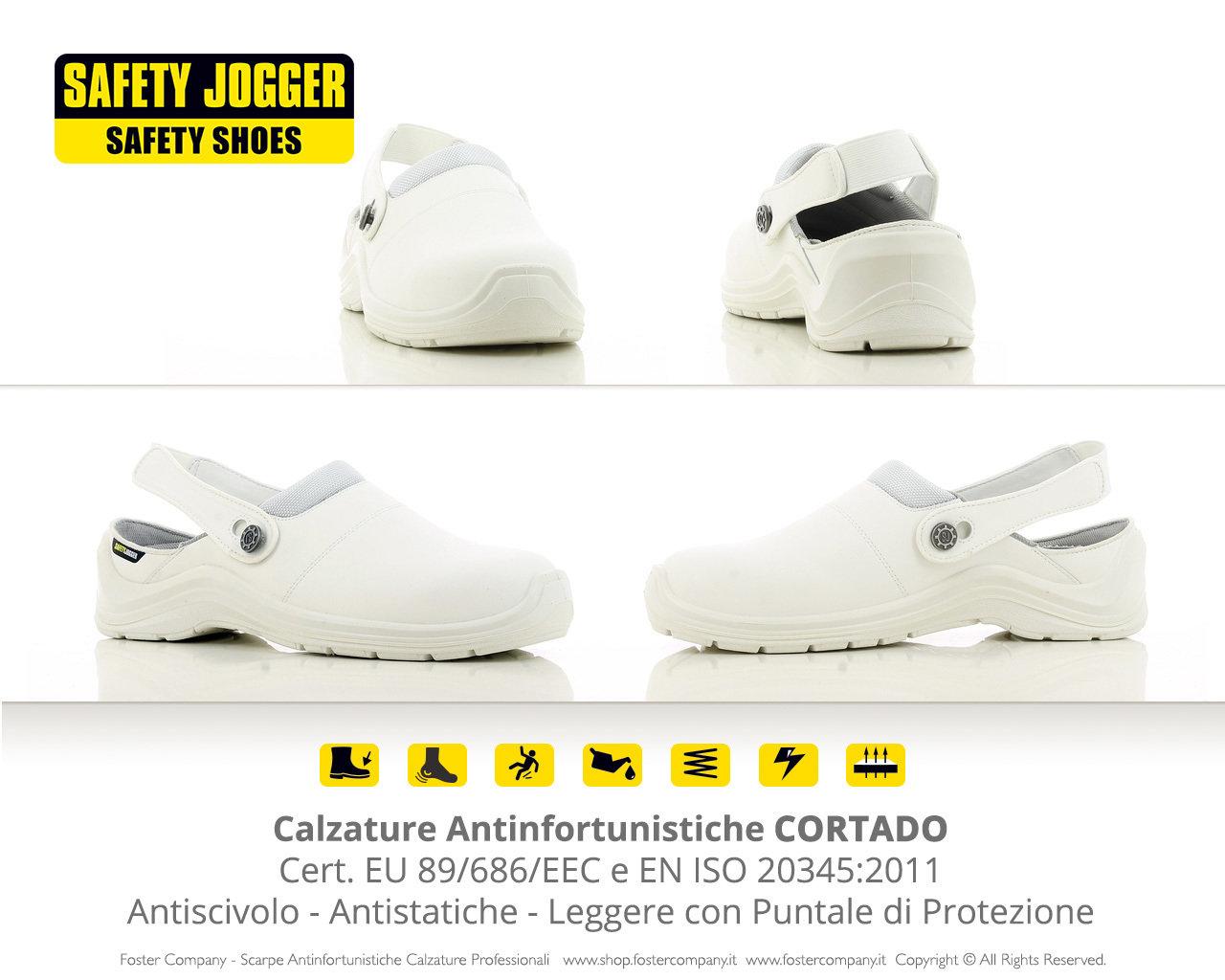 quality design 6891c 138e0 Calzature Antinfortunistiche con Puntale CORTADO
