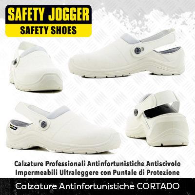 *NEW* Calzature Antinfortunistiche con Puntale di Protezione Safety Jogger CORTADO
