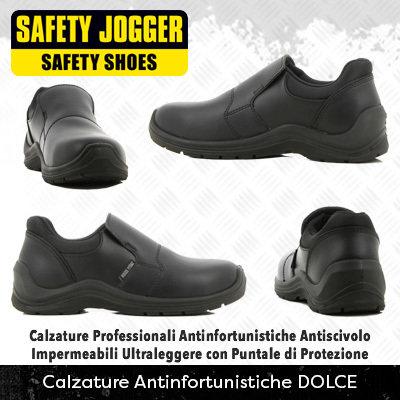 *NEW* Calzature Antinfortunistiche con Puntale di Protezione Safety Jogger DOLCE