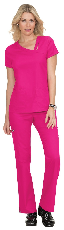 Casacca KOI STRETCH LEAH Colore 58. Flamingo - FINE SERIE