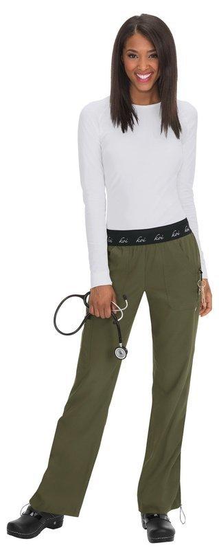 Pantalone KOI LITE SPIRIT Donna Colore 57. Olive Green