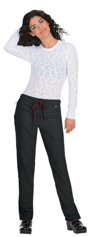 Pantalone KOI LITE HAPPINESS Donna Colore 0283. Black/Neon Pink