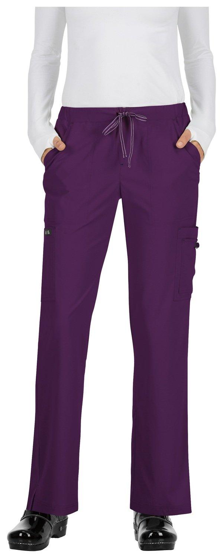 Pantalone KOI BASICS HOLLY Donna Colore 105. Eggplant