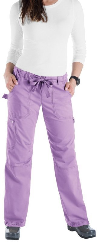 Pantalone KOI CLASSICS LINDSEY Donna Colore 85. French Lilac - FINE SERIE