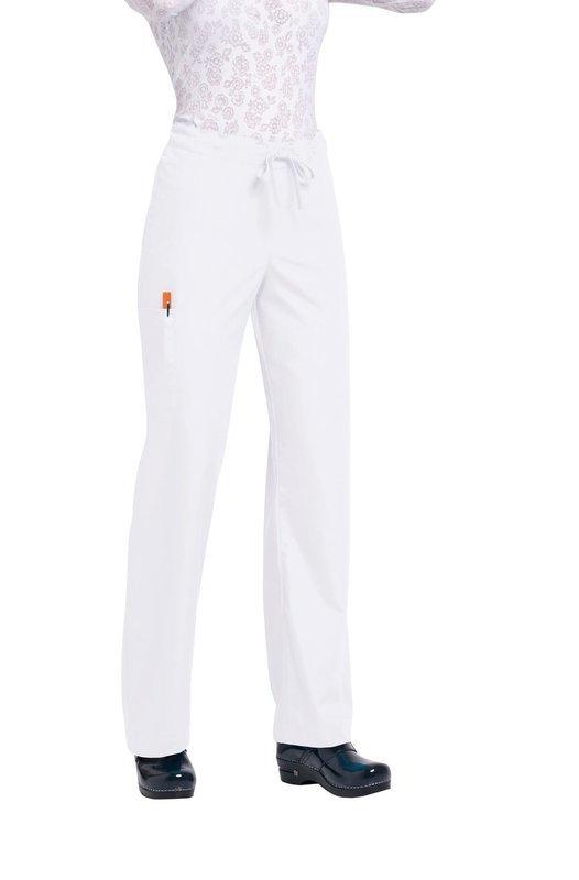 Pantalone ORANGE HUNTINGTON Colore 01. White