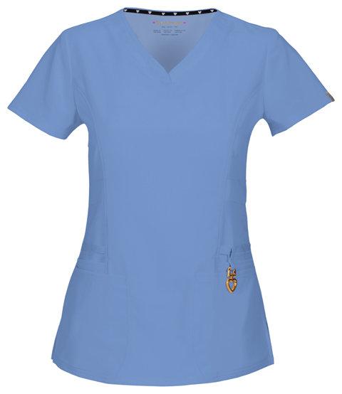 Casacca HEARTSOUL 20972A Donna Colore Ciel Blue - FINE SERIE