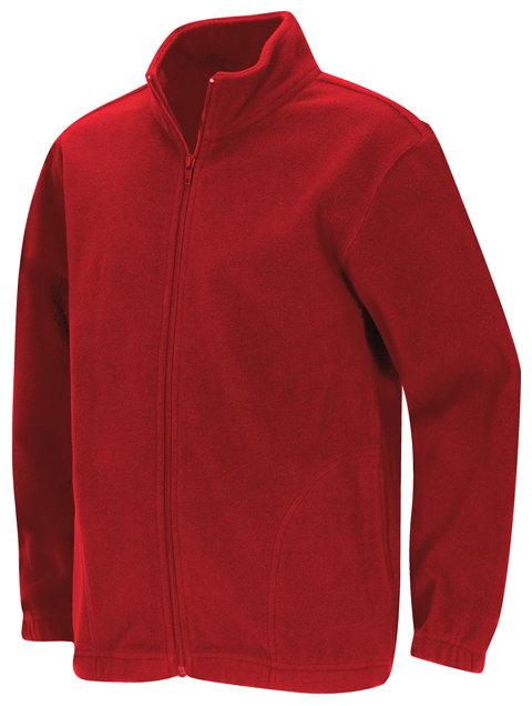 Felpa Code Happy 59204 Unisex Colore Red