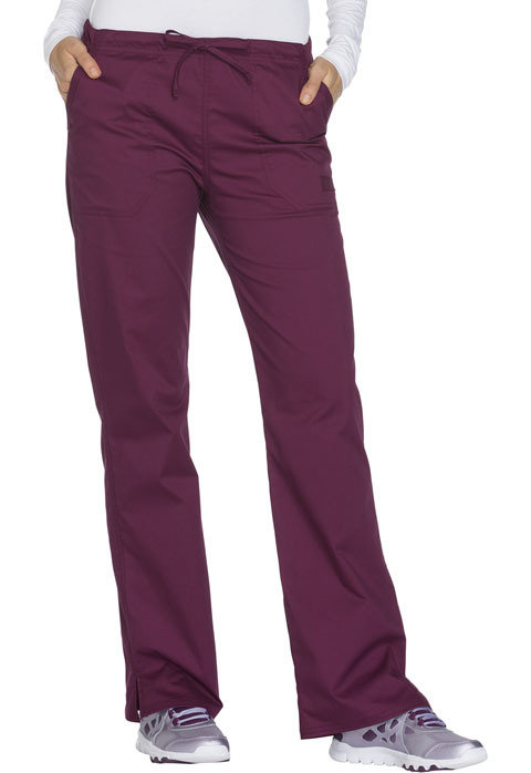 Pantalone CHEROKEE CORE STRETCH WW130 Colore Wine