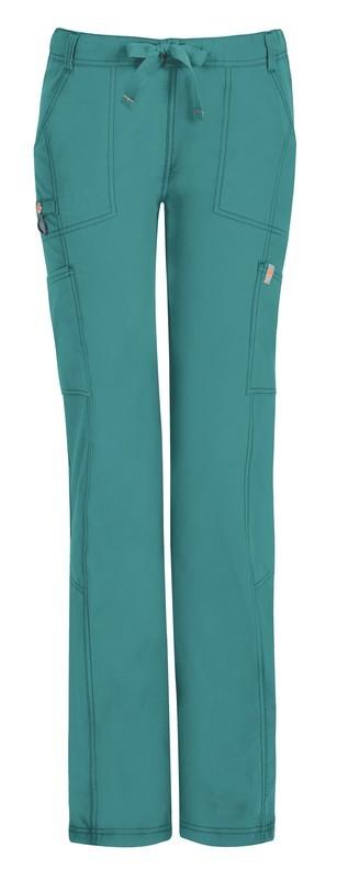 Pantalone Code Happy 46000AB-P Donna Colore Teal - FINE SERIE