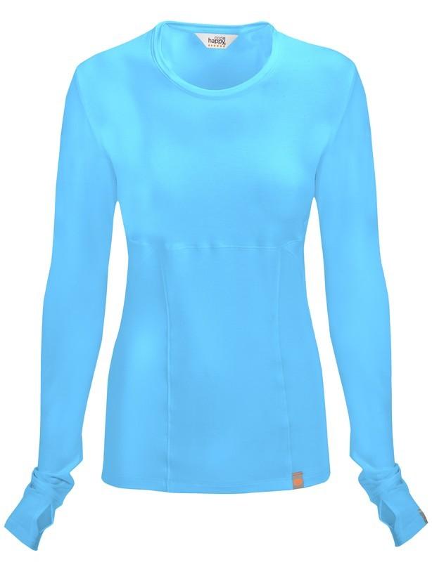 Maglietta Code Happy 46608A Donna Colore Turquoise - FINE SERIE
