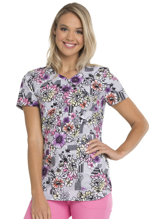 Casacca HEARTSOUL PRINT HS634 Colore Patterns and Posies