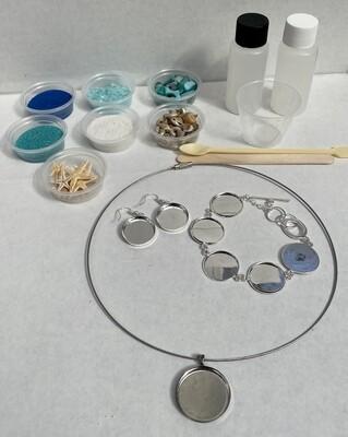Seascape Jewelry Kit