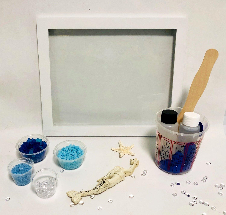 Seascape Window Kit With Mermaid