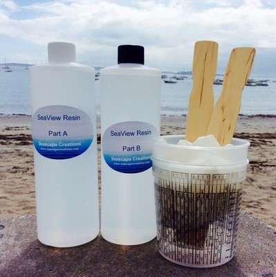 SeaView Resin Kit - 32 Ounces