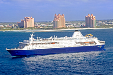 Two night Bahamas Cruise for two from West Palm Beach to Nassau, & Paradise Island, Bahamas.