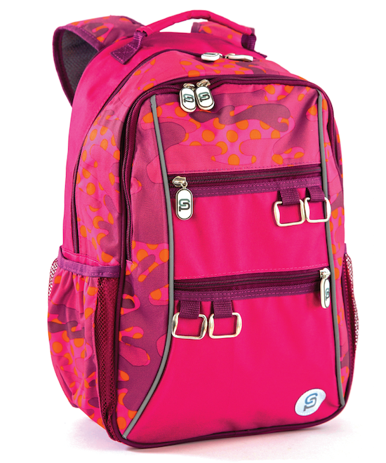 Valencia Backpack | Pink Camo