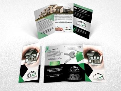 Brochure Printing Size 8.5 x 11
