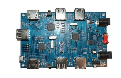 Refurbished BlisSTer board NO LLAPI port.