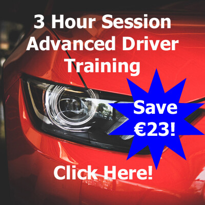 3 Hour Advanced Driver Training Session (Swords, Dublin)