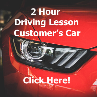 2 Hour Driving Lesson (Customer's Car)