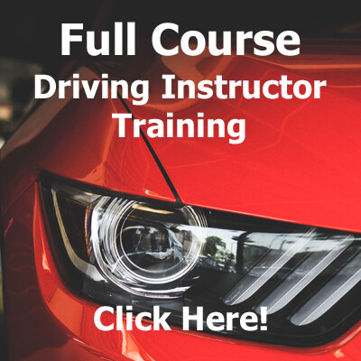 Driving Instructor Training Full Course (Category B Car)