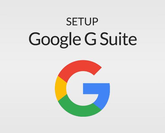 G-Suite Setup 00102