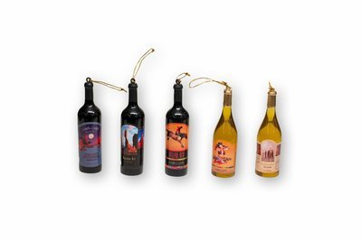 Ornament Wine Bottles