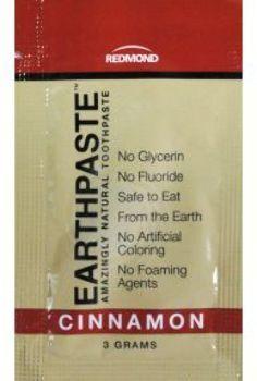 Redmond Earthpaste Toothpaste Cinnamon Packet Case Pack 100