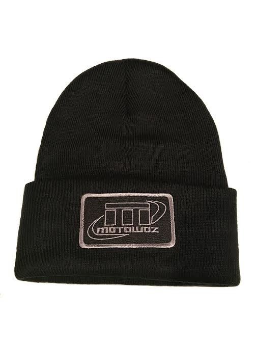 Motowoz Patch Cuffed Beanie