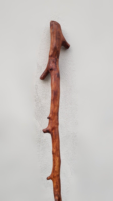 """Holzstab """"Merlin"""" - Druidenstab - das Original aus Franken"""
