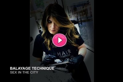 Balayage Technique - Sex In the City (10:00)