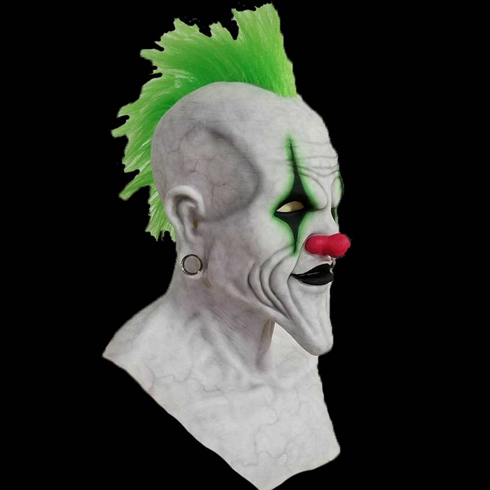 Sinister Clown Silicone Mask Silicone Masks