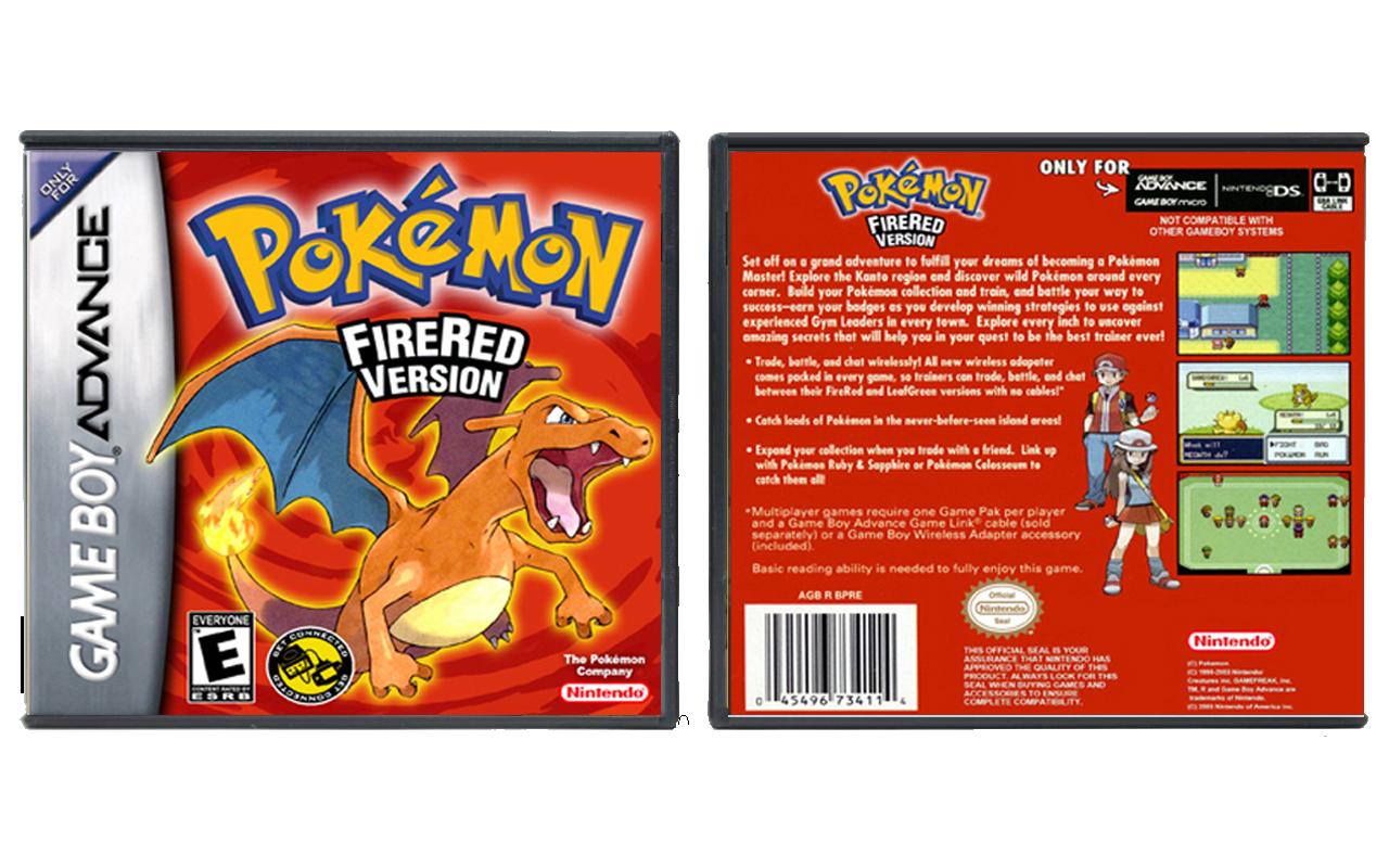 pokemon firered version gba