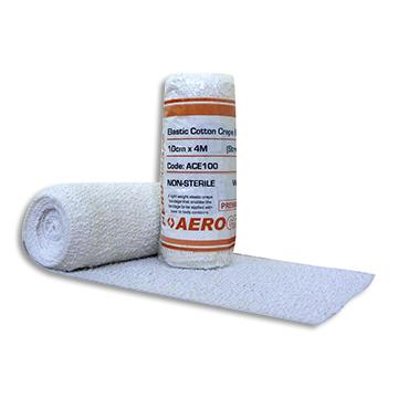 Elastic Cotton Crepe Bandage 10cm * 4m