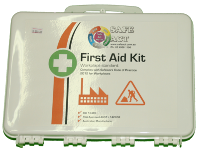 AFAK4W Workplace Standard Weatherproof First Aid Kit 26*35.5*8.8cm