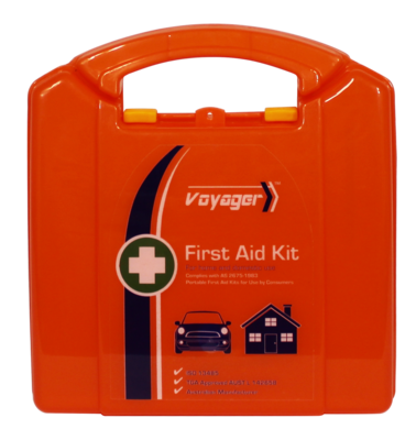 AFAK2P Neat Plastic First Aid Kit Motorist 19*17.5*7cm