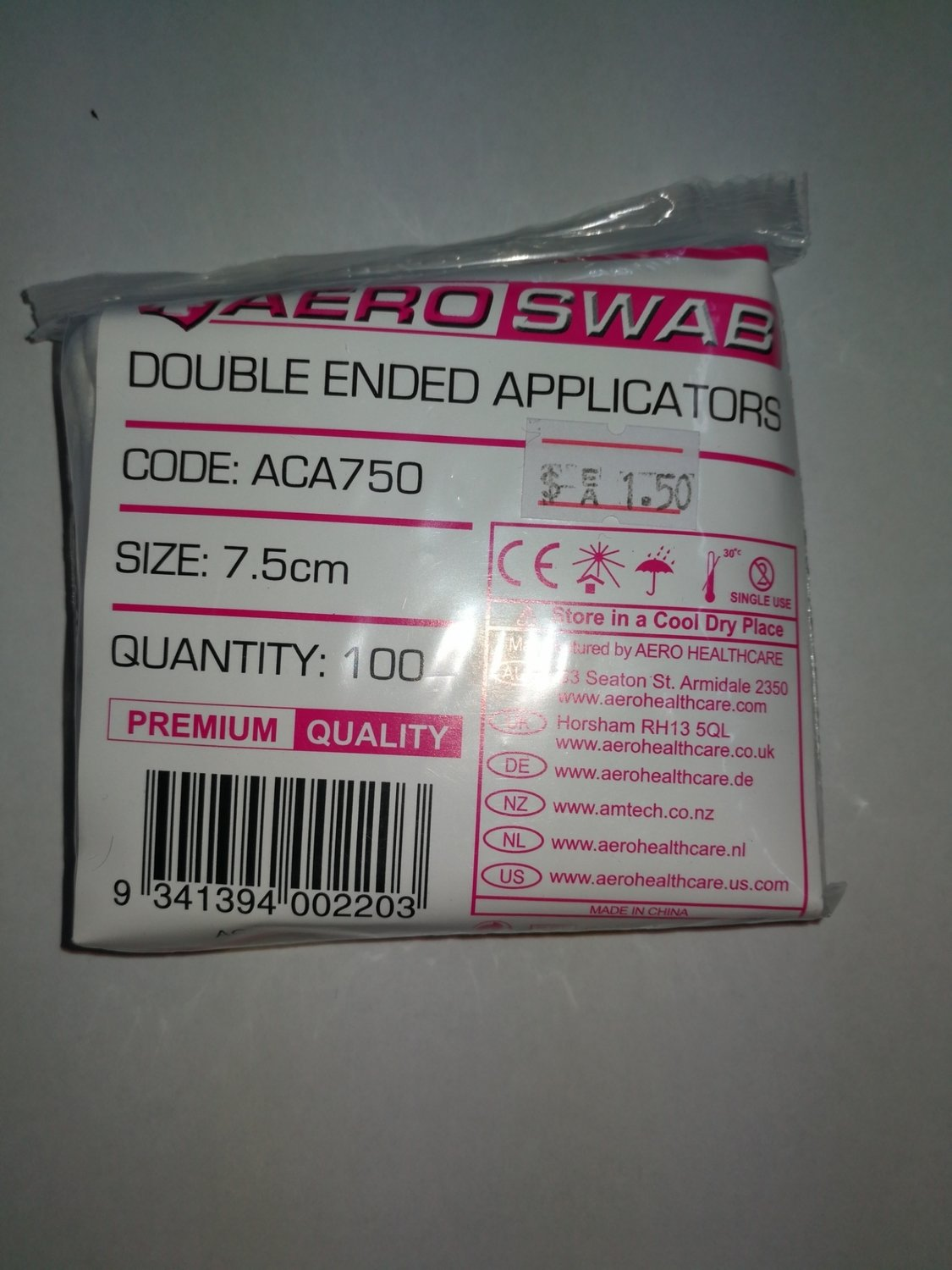 Double Ended Applicators