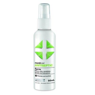 Mundicare First Aid Antiseptic Spray 50ml
