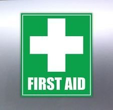 First Aid Sign for Vehicle