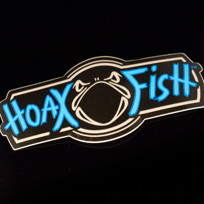 Hoax Fish Decal