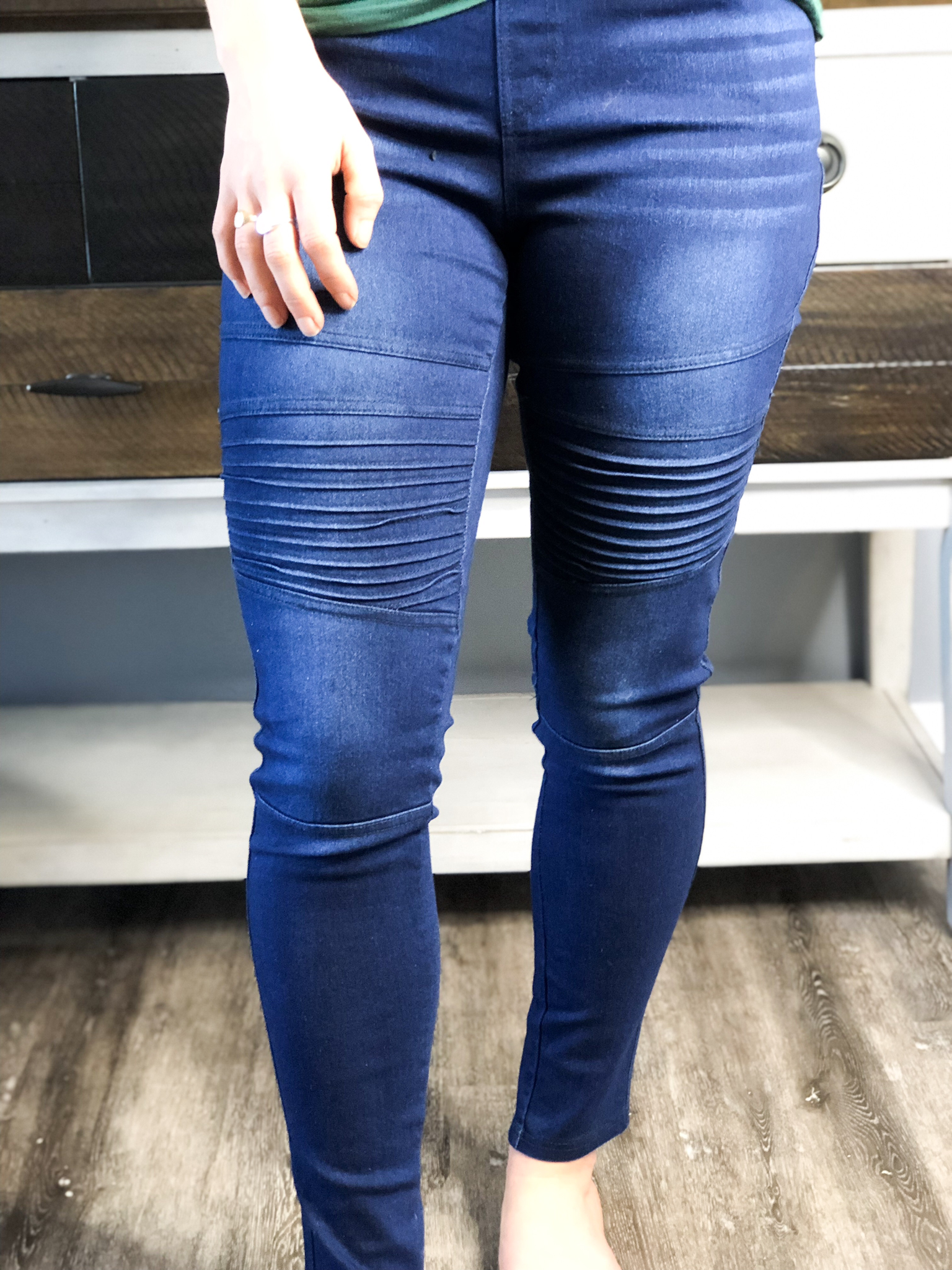 Crazy In Comfort Jeggings - Motto Style 81798