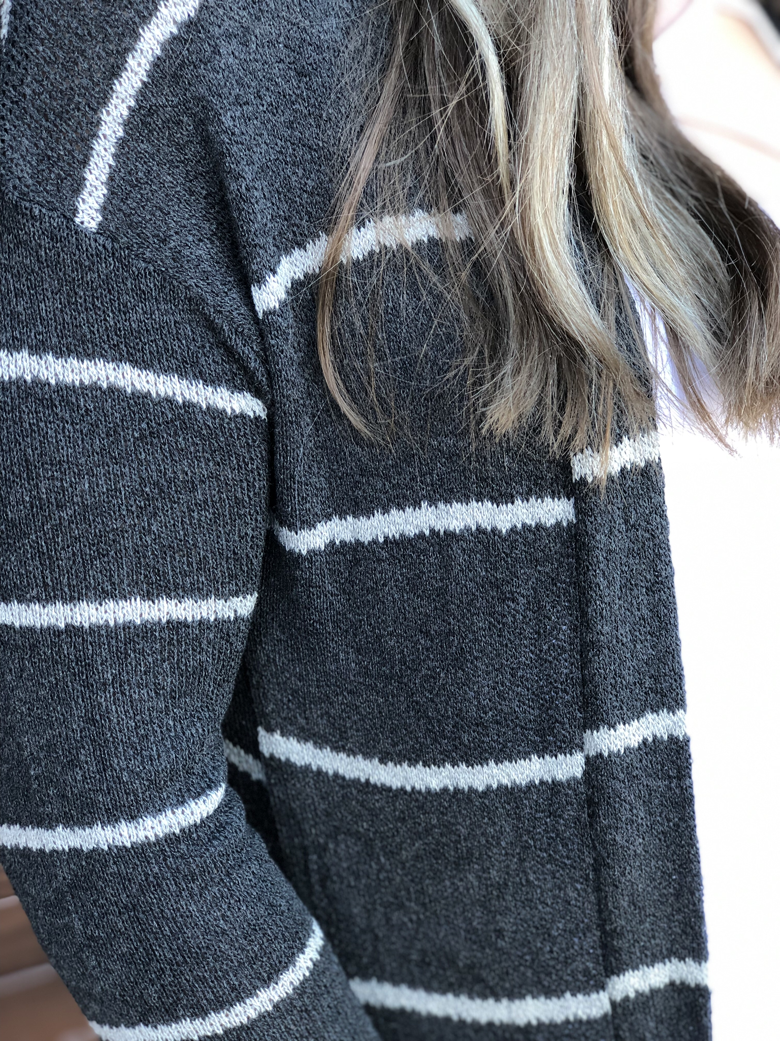 The Light Knit Cardigan - Charcoal