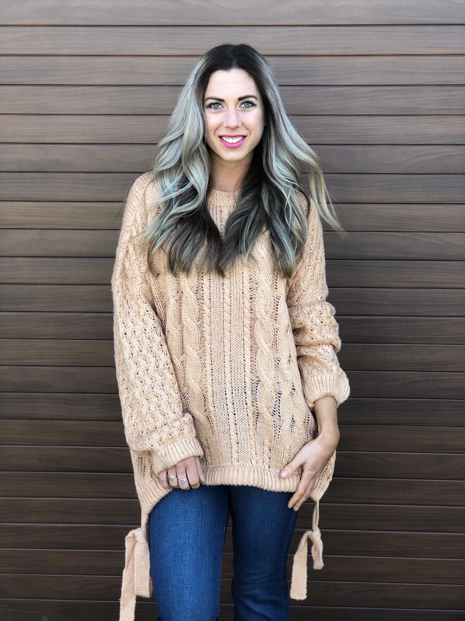 Apricot Sweater 22542