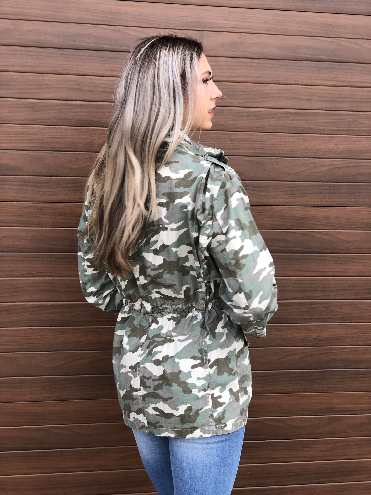 Spring Camo shell Jacket 82234