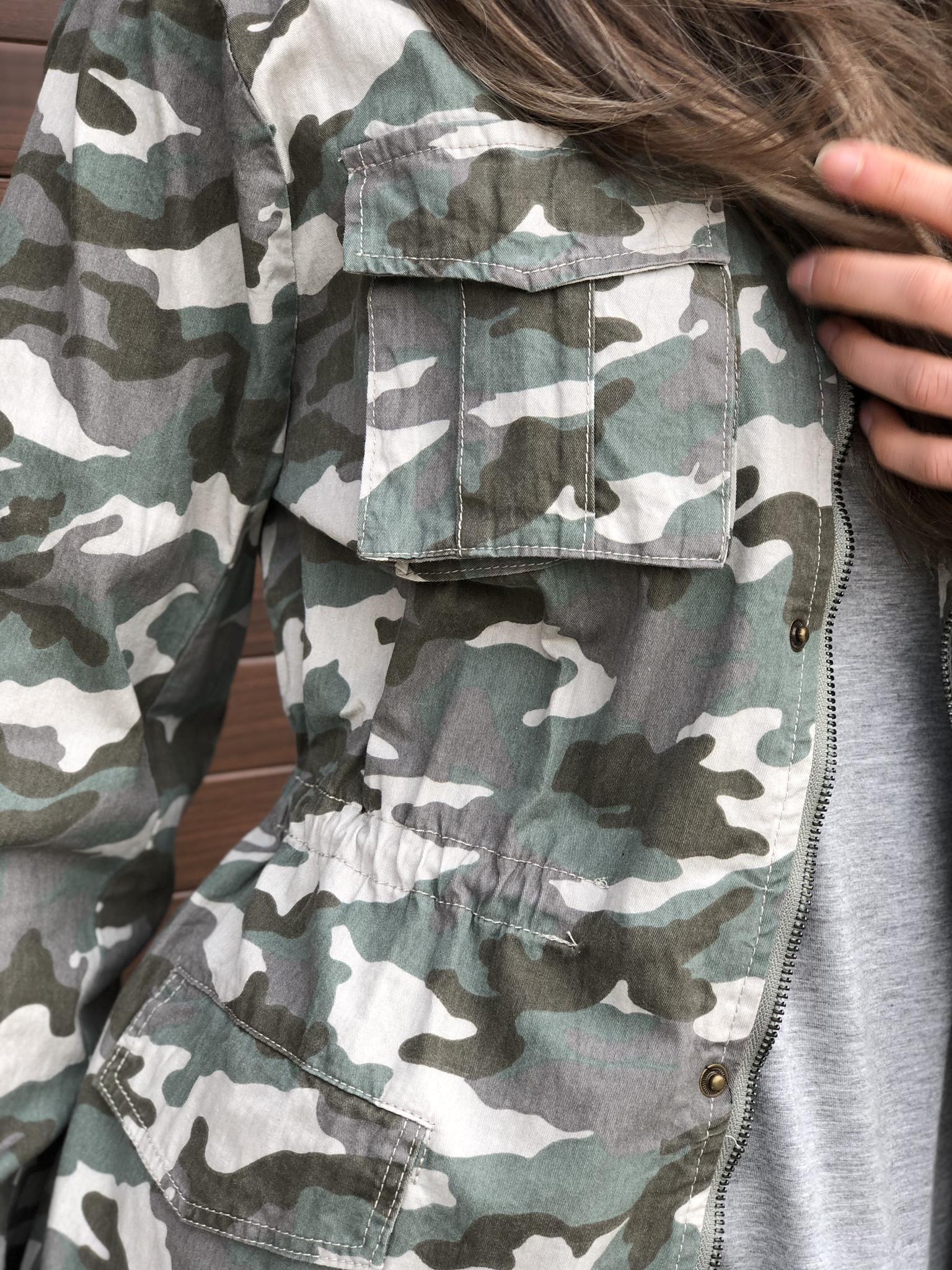 Spring Camo shell Jacket