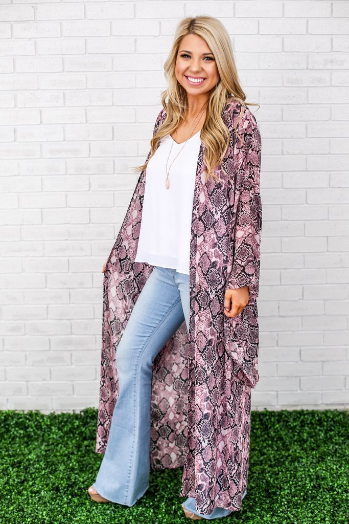 The Ross Snakeskin Duster 822651