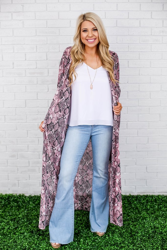 The Ross Snakeskin Duster