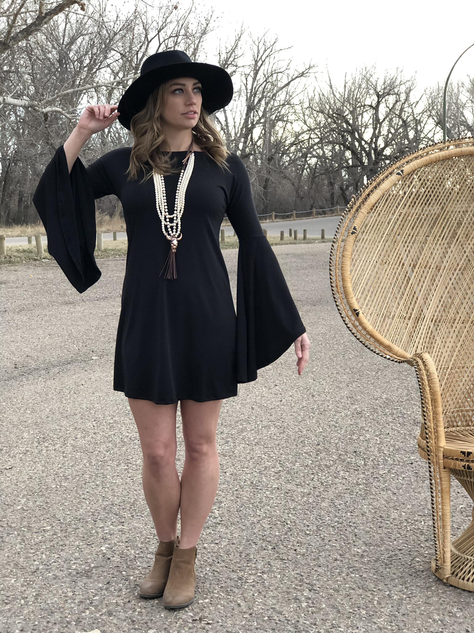 The Bell Sleeve Dress 82300