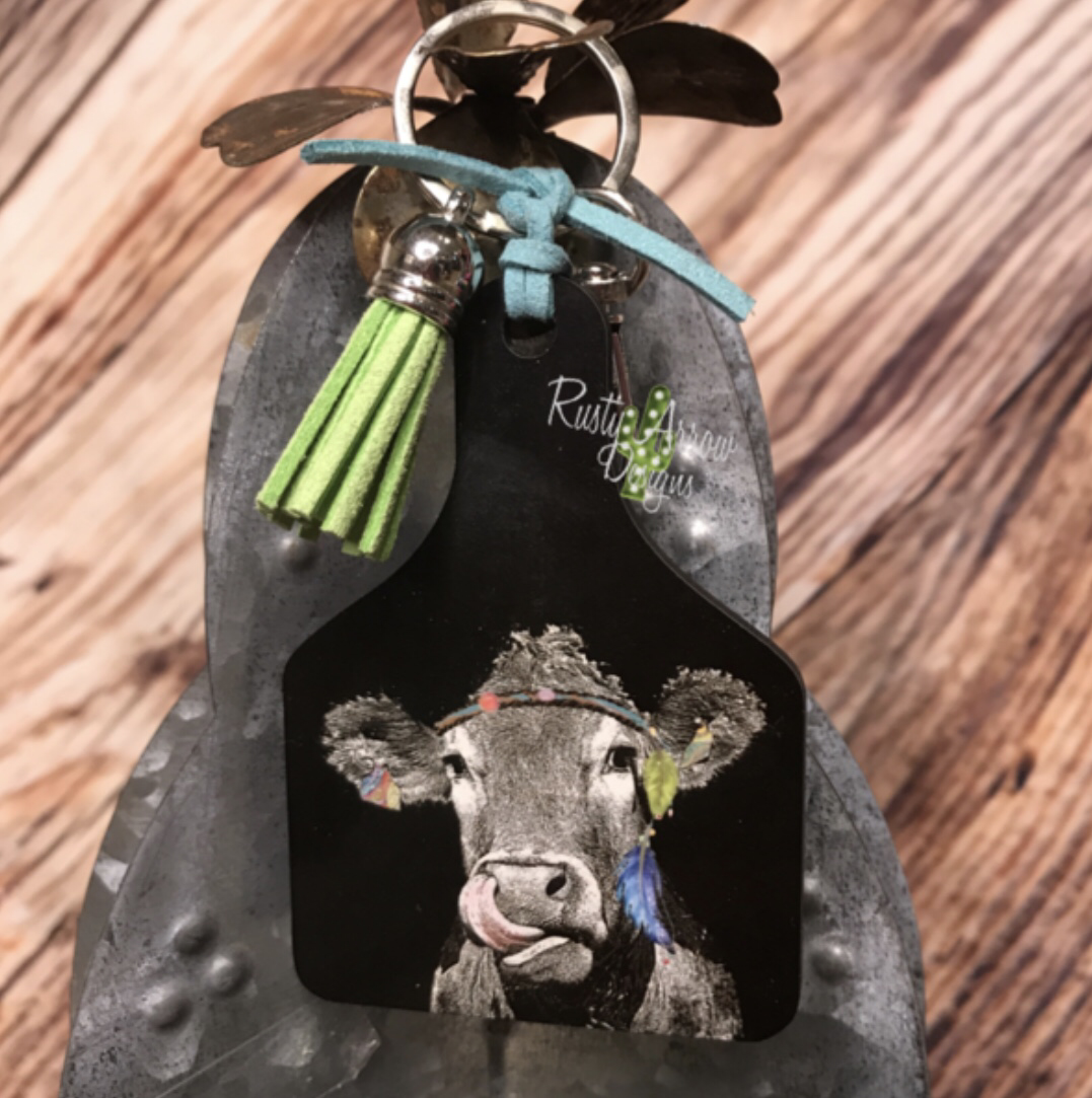 Livestock style Keychain (various designs)
