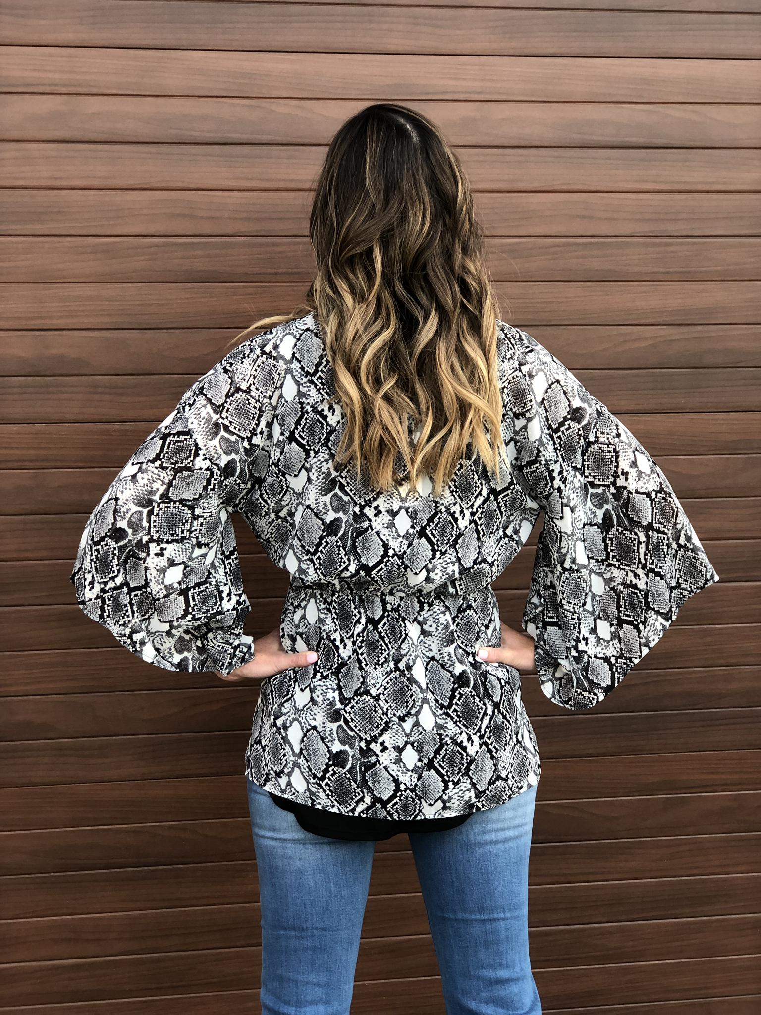 The Penelope Tie Kimono